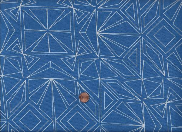 """Fractals Wide blue 108"""" überbreit"""