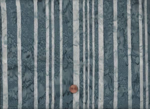 Batik grau Streifen