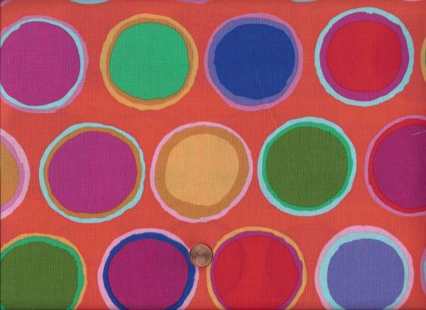 Kaffe Fassett Artisan Paint Dots red