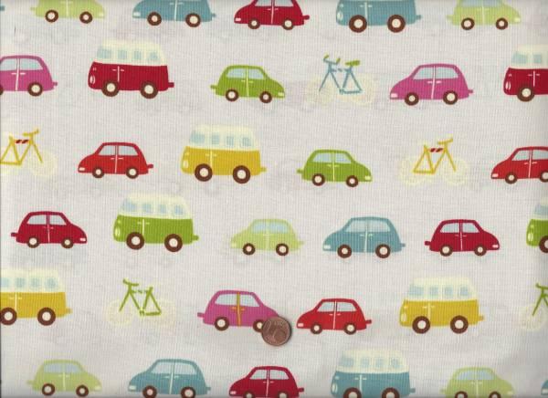 Roundabout Autos cream-bunt