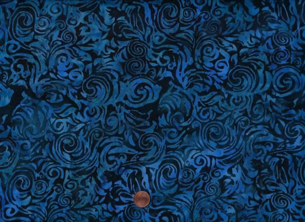 Batik Schnörkel deep sea