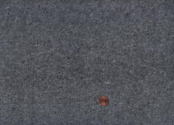 Essex Can. yarn dyed black 55%li/45%co