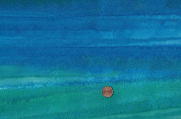 Batik Farbverlauf aqua