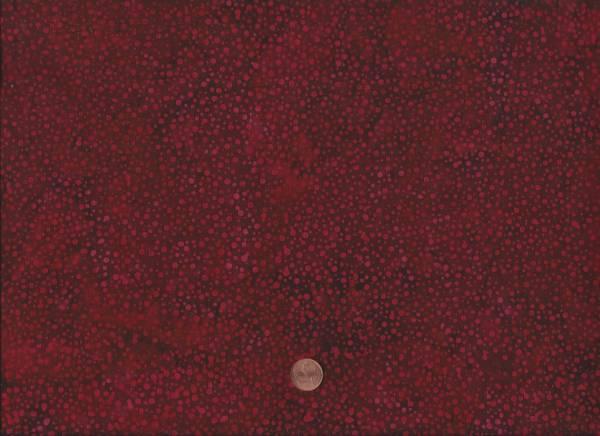 Batik Dots 074 rot-schwarz