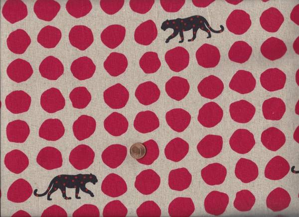 Landscape Punkte Panther cream-rot