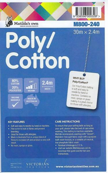 Vlies Matilda Poly Cotton