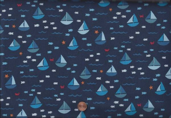 Seas the day Schiffe blau