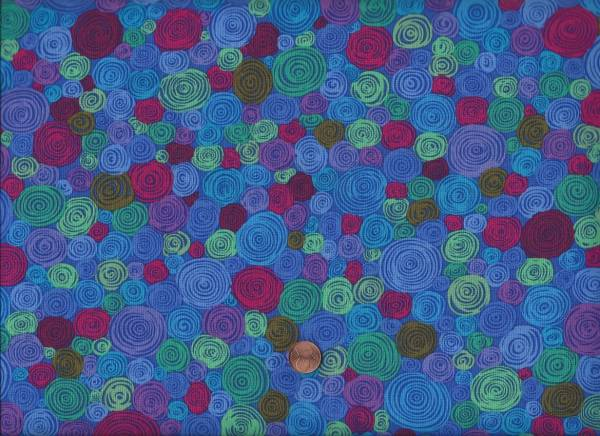 Kaffe Fassett Rolled Paper GP158 Blue