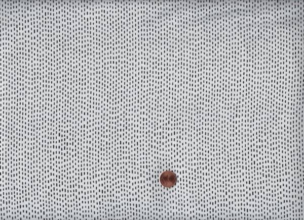 Tiny Stitches weiß-schwarz