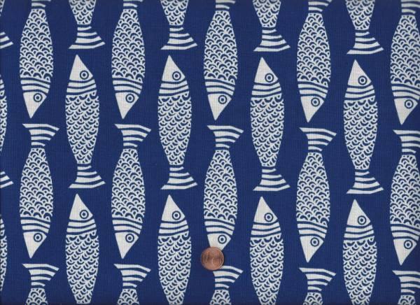 Tide Pool Fische blau-weiß