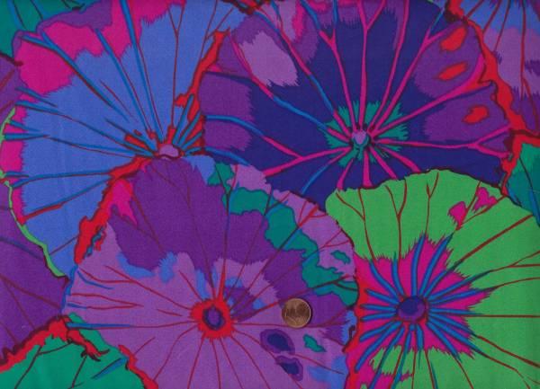 """K. Fassett Lotus Leaf qbgp07 purple 108"""""""