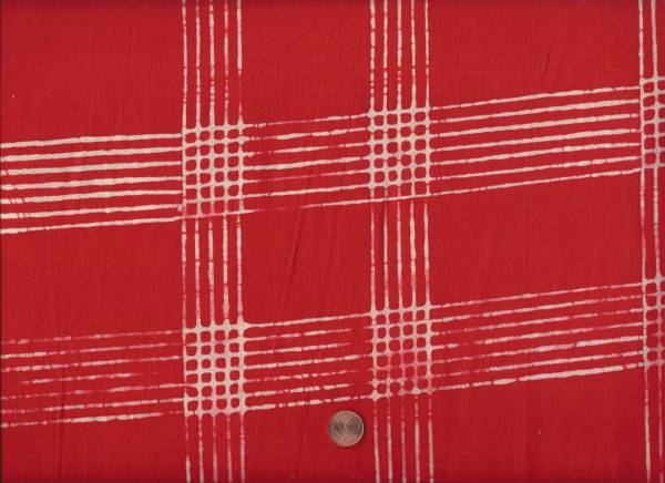 Alison Glass Chroma Plaid r scarlet