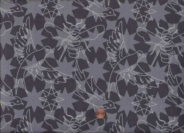 Alison Glass Sun Print Flourish Pepper