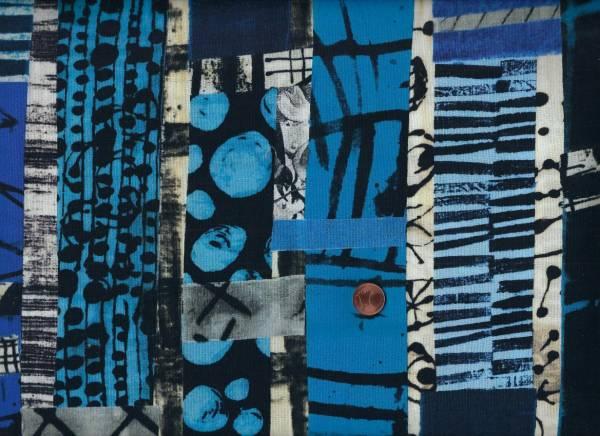Marcia Derse The Blue One Totem Digital Druck