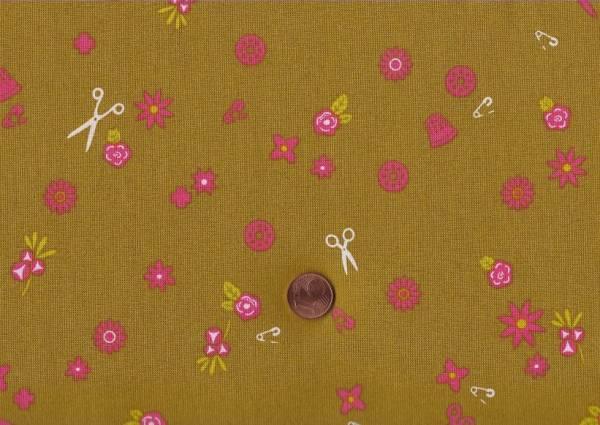 Alison Glass Handiwork Sew olive