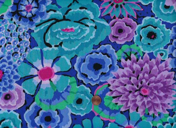 Kaffe Fassett Enchanted gp172 blue