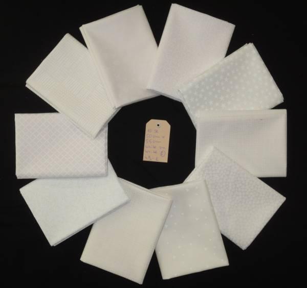 Stoffpäckchen White on White 2 FQ
