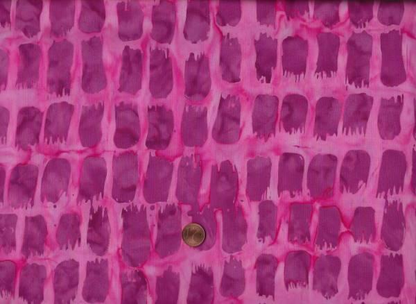 Batik Horizon Pinselstrich pink