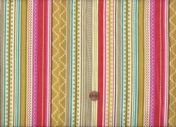 Erin stripe gemusterte Streifen bunt