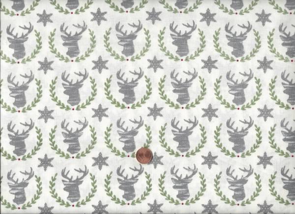 Hearthside Holiday Hirsch cream-grün