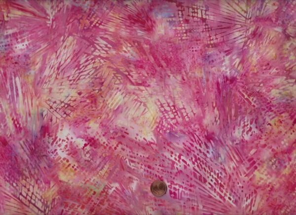 Batik Striche cream-pink