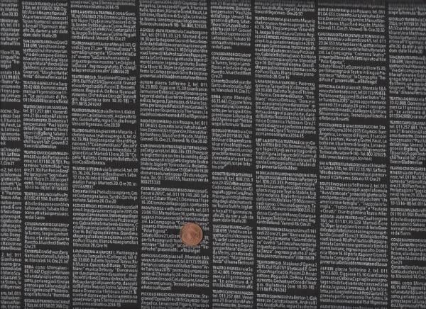 Quilters B.Harmony Zeitung schw.weiß 907