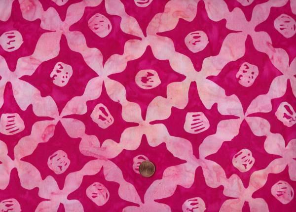 K. Fassett Artisan Batik Stars kf11 pink