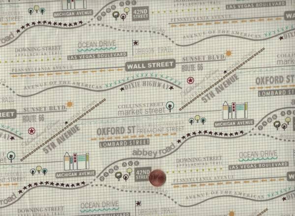 Road 15 The Map cream-bunt