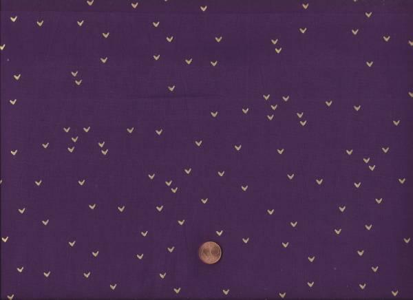 me & you Dreiecke gold lila