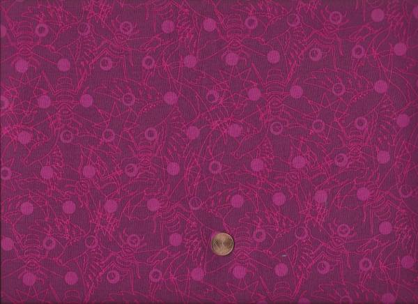 Alison Glass Sun Print raisin