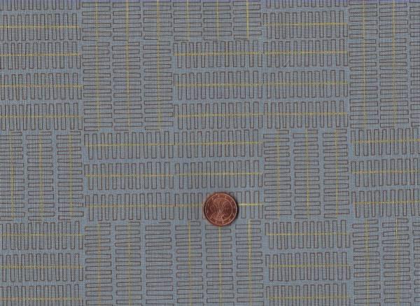 Karen Lewis Wayside Meander schw-grau gold