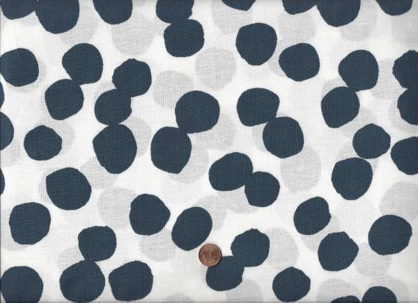 Lotta Jansdotter Lucky Big Dots navy