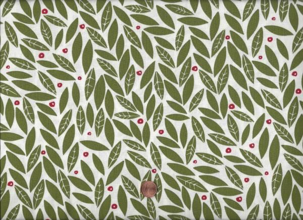 Gingiber Merrily Blätter cream-grün