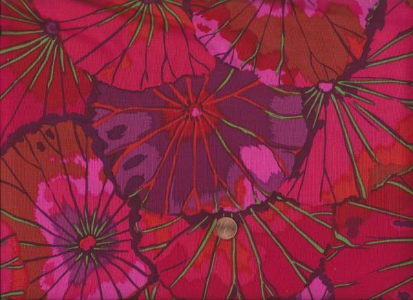 Kaffe Fassett Lotus Leaf gp29 wine