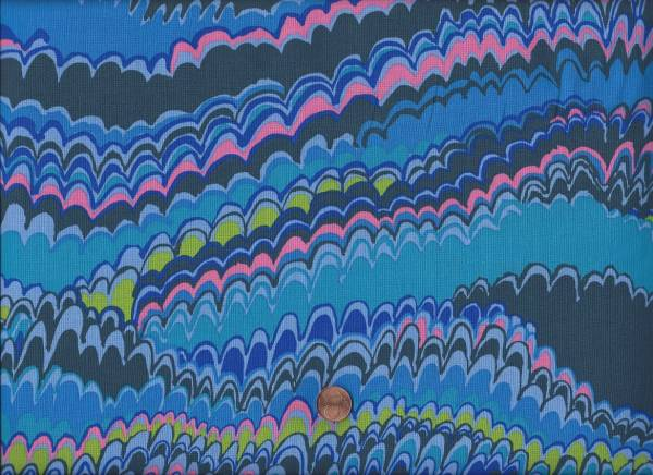 Kaffe Fassett End Papers GP159 Blue