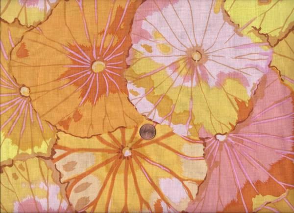 K. Fassett Lotus Leaf yellow
