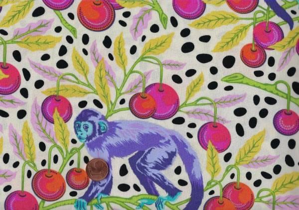 Tula Pink Monkey Wrench mango