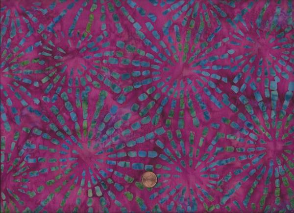 Bali Batik Ray of Light Magenta/Multi
