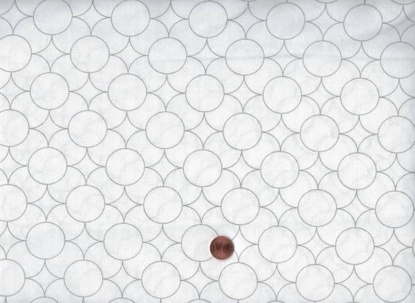 Florish Kreise weiß-taupe