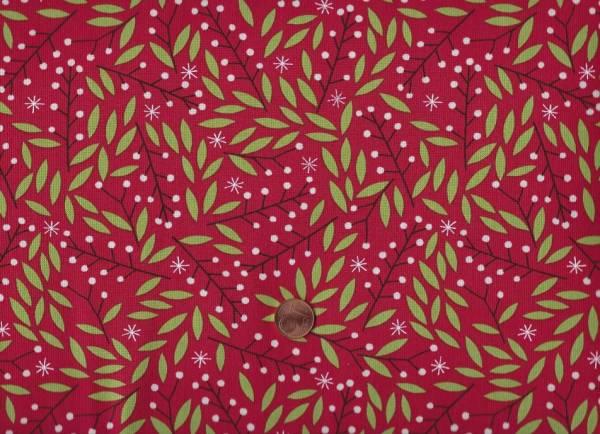 Merriment Gingiber Holly Berries Red