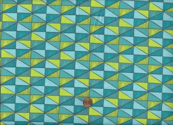 Sea Life Dreiecke türkis-grün