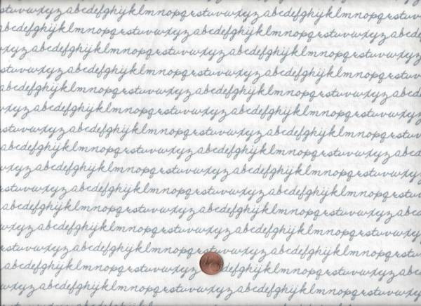 Notepad ABC weiß-grau