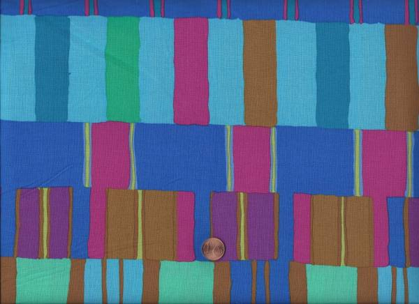 Kaffe Fassett Layered Stripe blue
