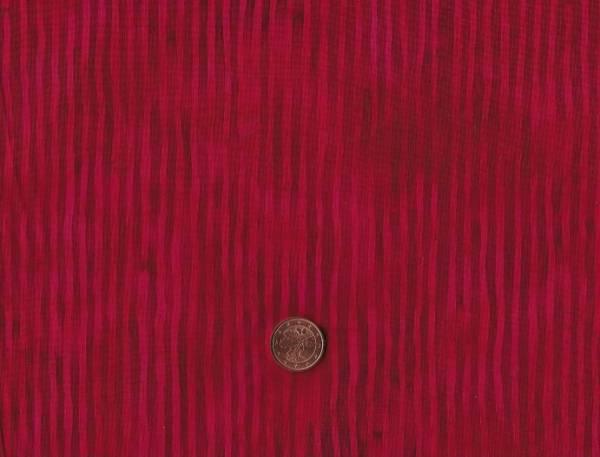 Bali Batik Streifen Scarlet