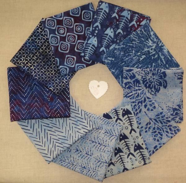 Stoffpaket Batik 33