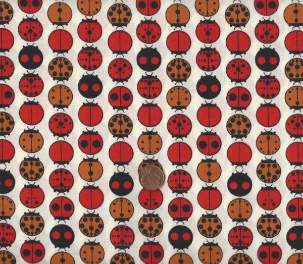 Charly Harper Ladybugs Bio Cotton