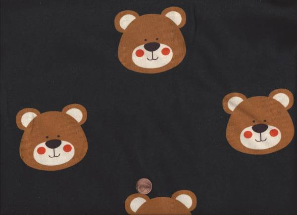 Jersey Teddy schwarz