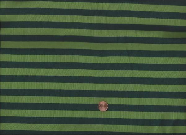 Jersey Streifen grün