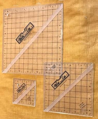 Bloc-Loc Ruler Set 2 Quadrat