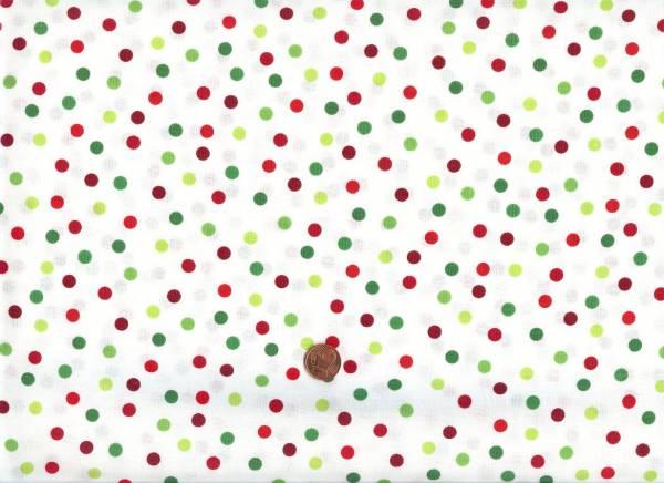 Remix Holiday Punkte weiß-rot-grün